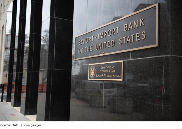 Photo of Export-Import Bank headquarters.