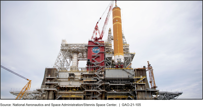 Key Parts of Space Launch System Ready for Testing at Stennis Space Center