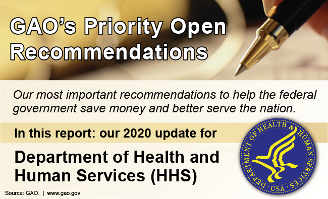 HHS priority recommendation graphic