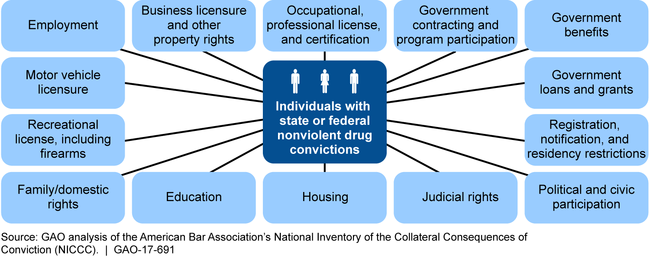 Aspects of an Individual's Life That Can Be Affected by Federal Collateral Consequences for Nonviolent Drug Convictions, as Identified by the NICCC
