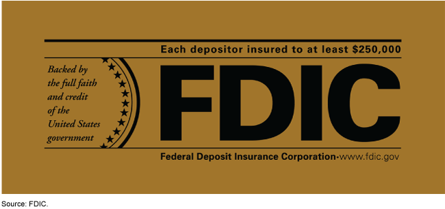 The Federal Deposit Insurance Corporation logo.