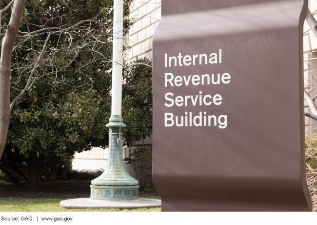 This is a photo of an IRS building.