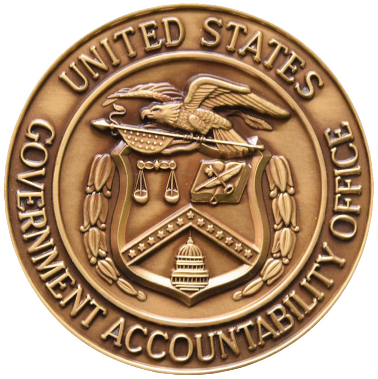 U.S. Government Accountability Office metal seal